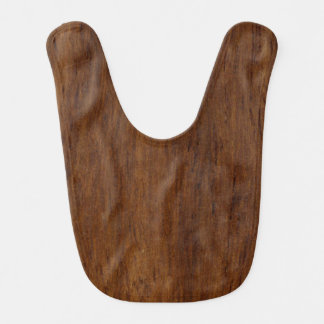 Plain Wood Plank Bib