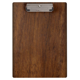 Plain Wood Plank Clipboard