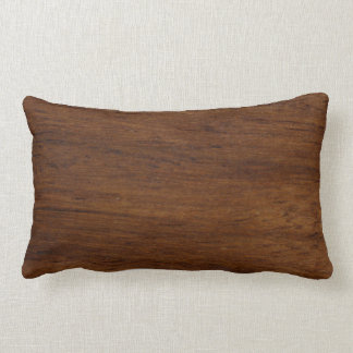 Plain Wood Simple Lumber Lumbar Pillow