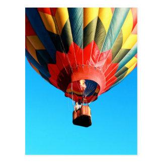 Plainville Fire Company Hot Air Balloon Festival Postcard