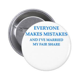 plaisanterie de divorce badges
