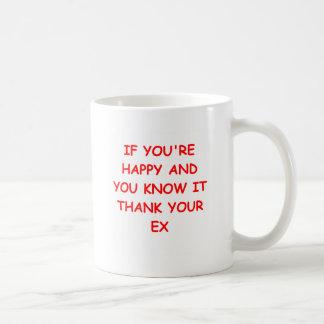 plaisanterie de divorce tasses à café