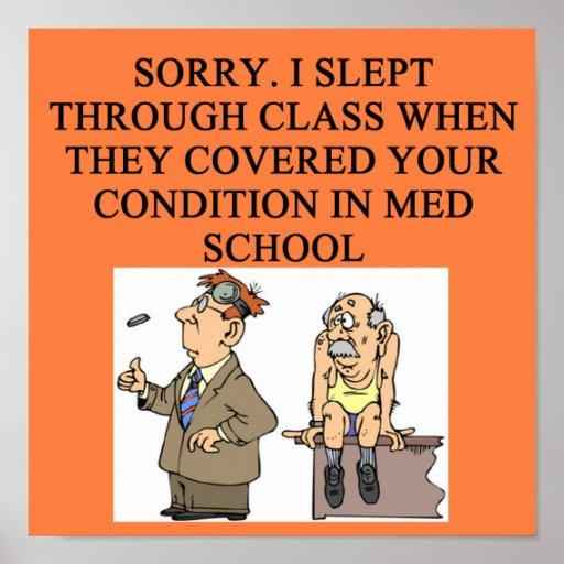 plaisanterie de docteur posters