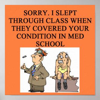 plaisanterie de docteur poster
