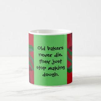 plaisanterie de la pâte de boulangers mug blanc