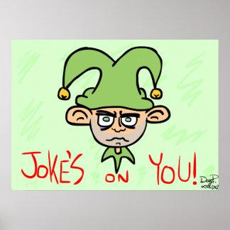 Plaisanterie sur vous ! poster