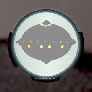 Plaisanteries de Roswell Décalcomanie Pour Fenêtre LED