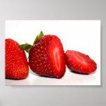 Plaisir de fraise affiche