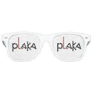 Plaka Logo Retro Sunglasses