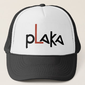 Plaka Logo Trucker Hat