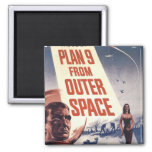 Plan 9 From Outer Space Movie Poster Fridge Magnets