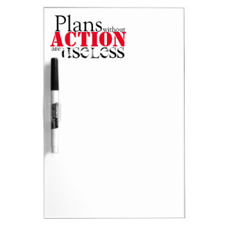Plan Action Dry Erase Board
