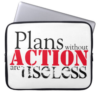 Plan Action Laptop Sleeve