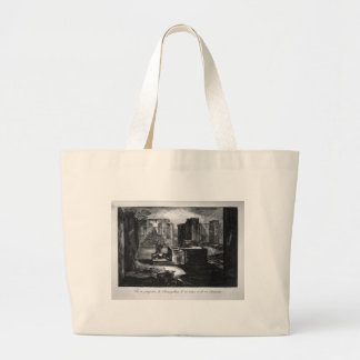 Plan and elevation of a restaurant by Giovanni Jumbo Tote Bag