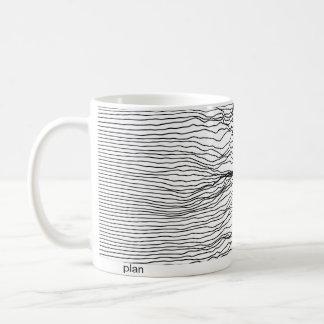 plan and reality coffee mug