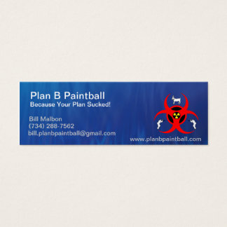 Plan B mini Business Card
