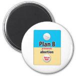 Plan B Refrigerator Magnet