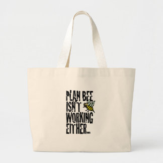 Plan Bee isn't working either Canvas Bags