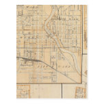 Plan of South Bend with Mishawaka Postcard