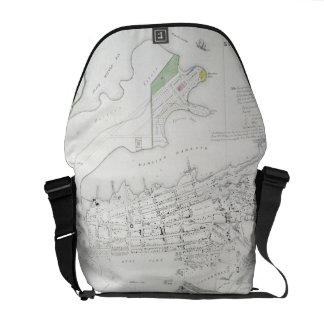 Plan of Sydney with Pyrmont, New South Wales, the Messenger Bag