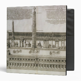 Plan of the Circus Maximus, Rome, engraved by the Vinyl Binder