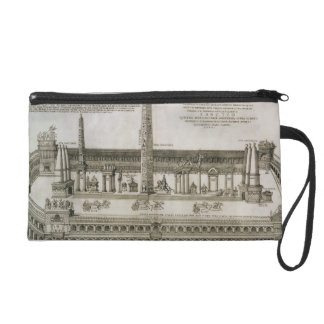 Plan of the Circus Maximus, Rome, engraved by the Wristlet Clutches