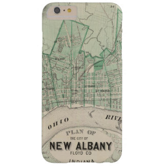 Plan of the City of New Albany, Floyd Co, Indiana Barely There iPhone 6 Plus Case