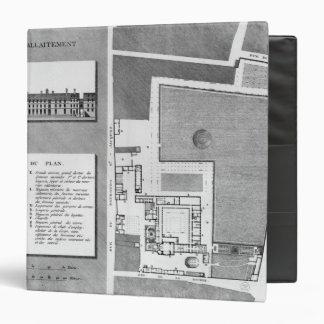 Plan of the Maternite Port-Royal Vinyl Binder