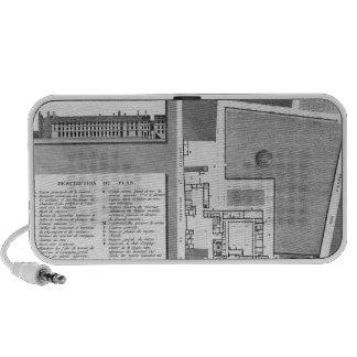 Plan of the Maternite Port-Royal Laptop Speakers