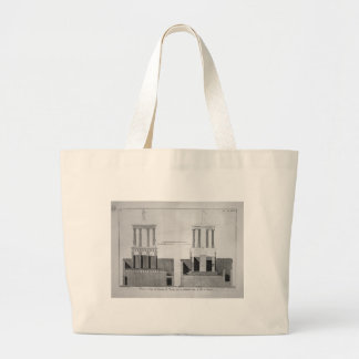 Plan of the tomb of Mamia and outbuildings Jumbo Tote Bag