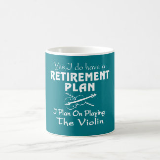 Plan on playing the Violin Coffee Mug