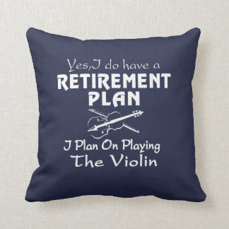 Plan on playing the Violin Throw Pillow