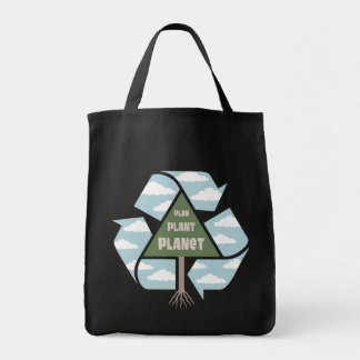 Plan-Plant-Planet Tote Bag