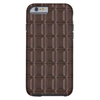 Plan rapproché de barre de chocolat coque iPhone 6 tough