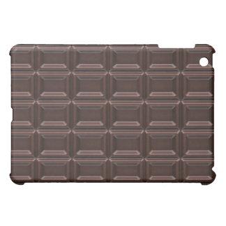 Plan rapproché de barre de chocolat coques iPad mini