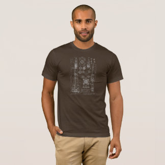 Plan rocket Vostok - the USSR T-Shirt
