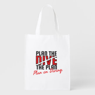 Plan the Dive Bag Reusable Grocery Bags