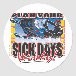 Plan-Your-Days-Wisely-[Conv Round Sticker