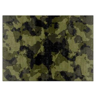 Planche À Découper Les militaires de camouflage dénomment