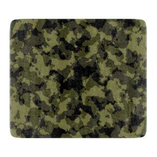 Planche À Découper Motif militaire de style de camouflage