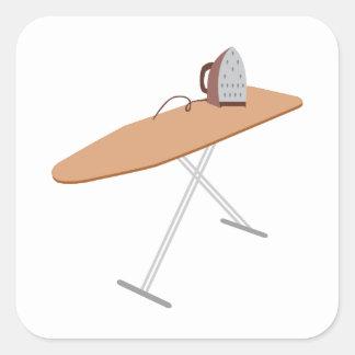 Planche à repasser sticker carré