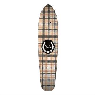 """Planche à roulettes #2. de """"guirlande"""" de tartan plateaux de skate"""