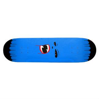 Planche à roulettes bleue de coutume de vamp skateboard