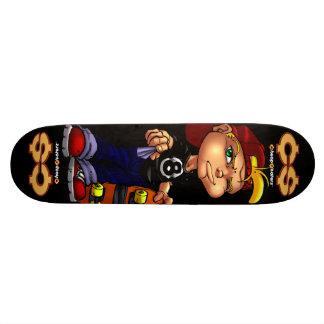 Planche à roulettes bon marché de pauvres de skateboard 19,7 cm