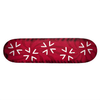 planche à roulettes croisée de fer plateau de skateboard