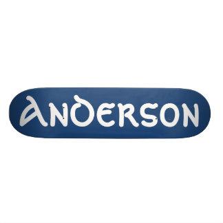 Planche à roulettes d'Anderson Skateboard Customisable