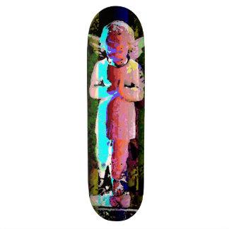 Planche à roulettes d'angle de partie skateboards