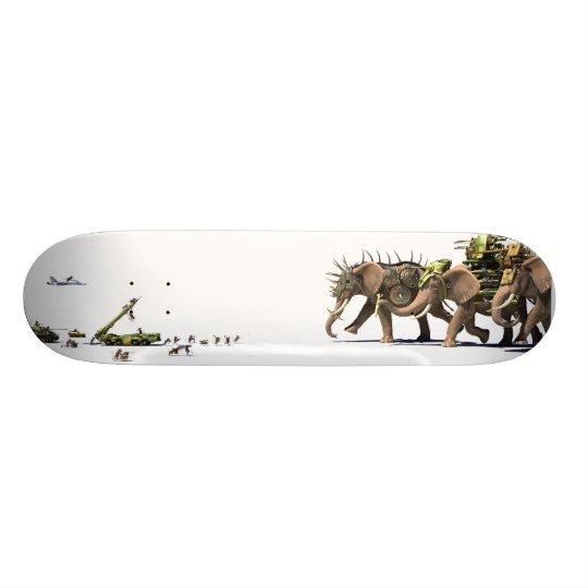 Planche à roulettes d'asymétrie skateboards
