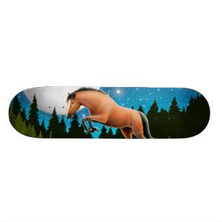 Planche à roulettes de cheval de pullover d'étoile plateaux de skateboards customisés