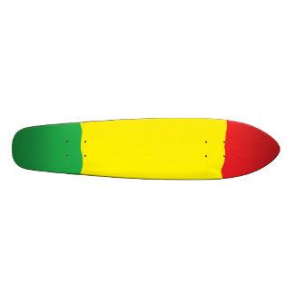 Planche à roulettes de croiseur de bombe de Rasta Plateaux De Skateboards